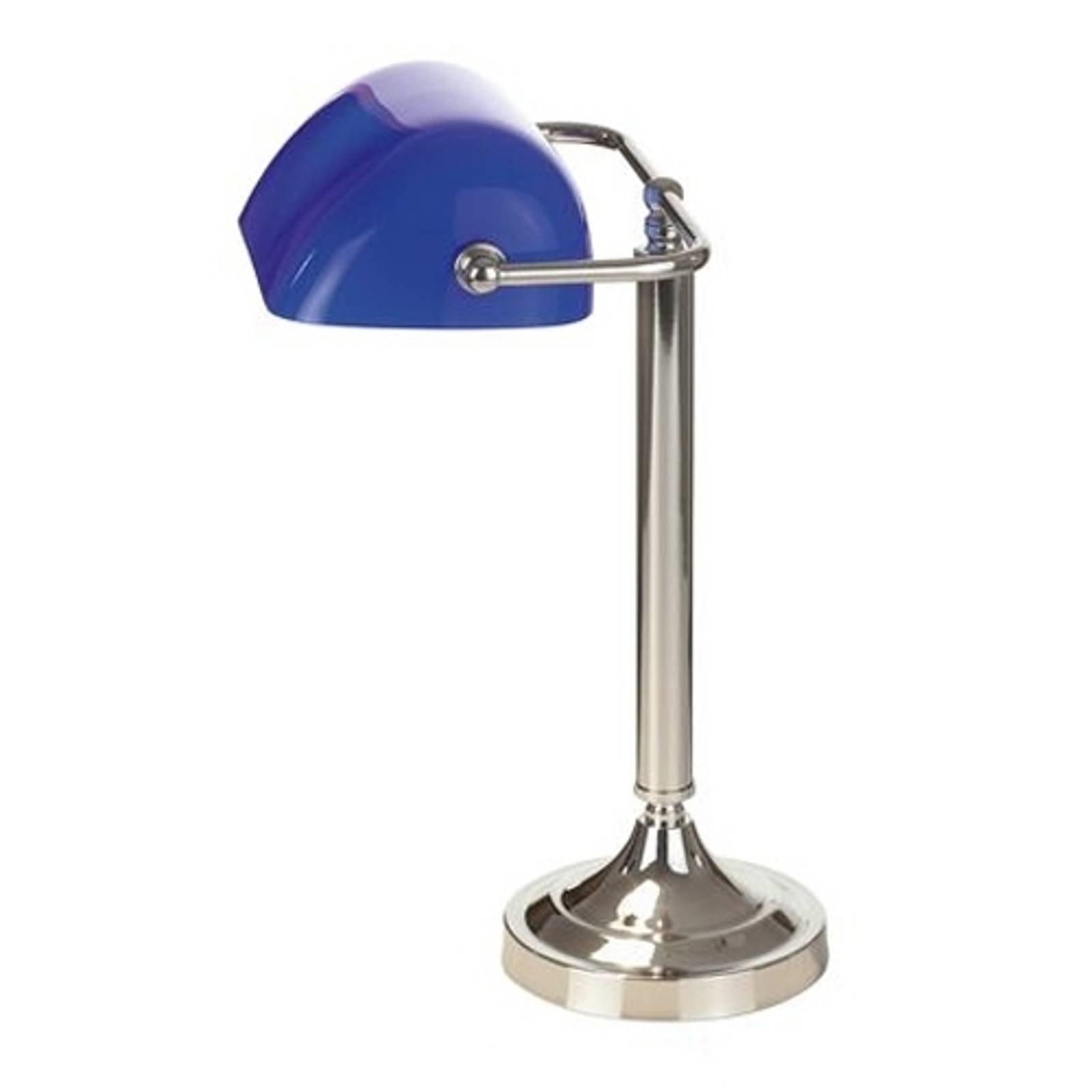 Typisk TINEKE banker-bordlampe i blått
