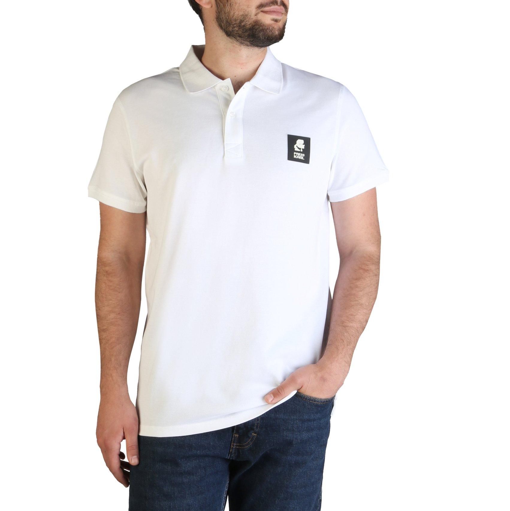 Karl Lagerfeld Men's Polo Shirt Various Colours KL21MPL01 - white M