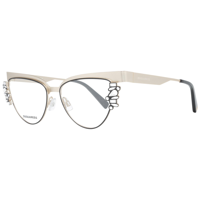 Dsquared² Women's Optical Frames Eyewear Gold DQ5276 52032
