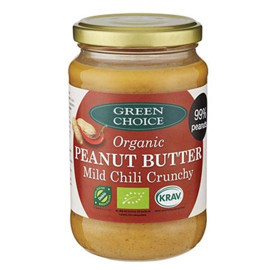 """Luomu Maapähkinävoi """"Chili Crunchy"""" 350g - 25% alennus"""