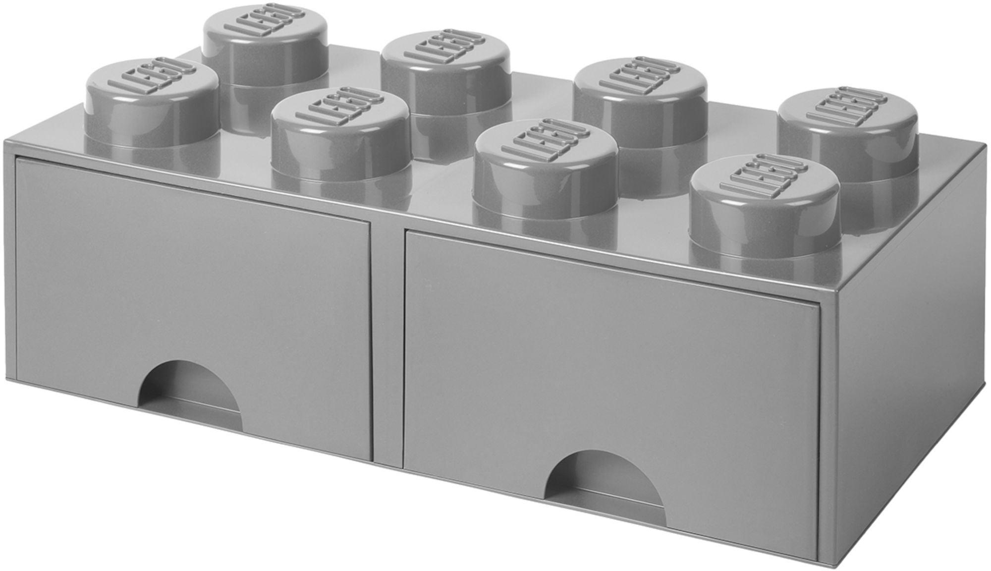 LEGO Säilytyslaatikko 8, Harmaa
