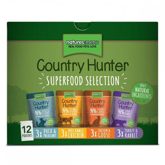 Natures:menu Country Hunter Cat Multipack 12x85 g