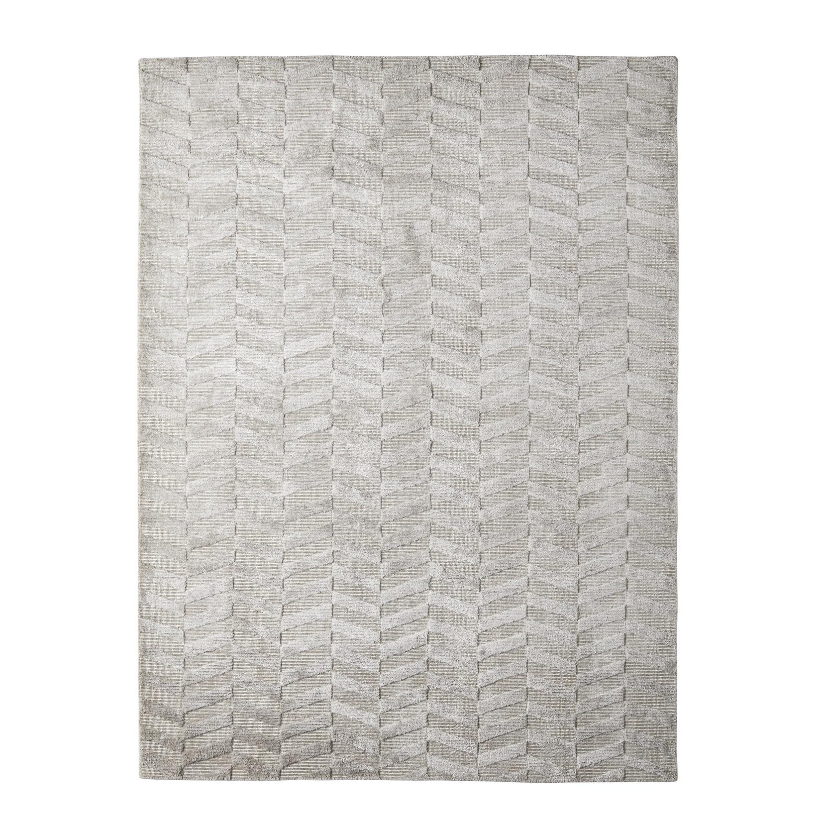 Viskosmatta CHEVRON ALUMINIUM 200x300 cm, Classic Collection