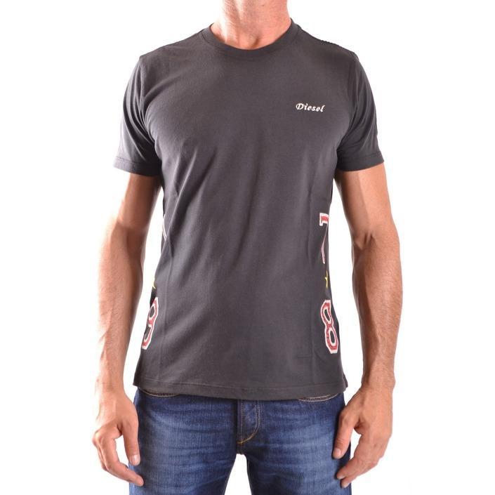 Diesel Men's T-Shirt Black 163307 - black S