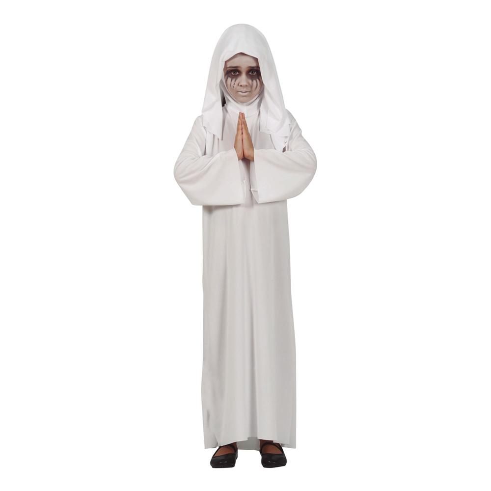 Satanistisk Nunna Barn Maskeraddräkt - Small