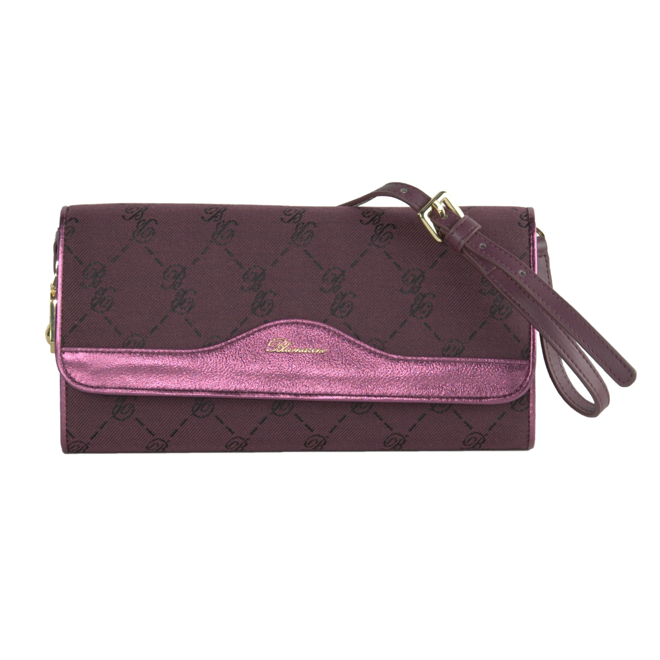 Blumarine Women's Clutch Bag Purple BL1421372