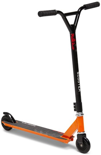 Pinepeak Sparkesykkel Extreme Scooter, Oransje