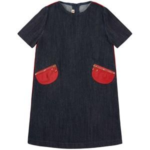 Marni Indigo Soft Wash Klänning Blå 10 år