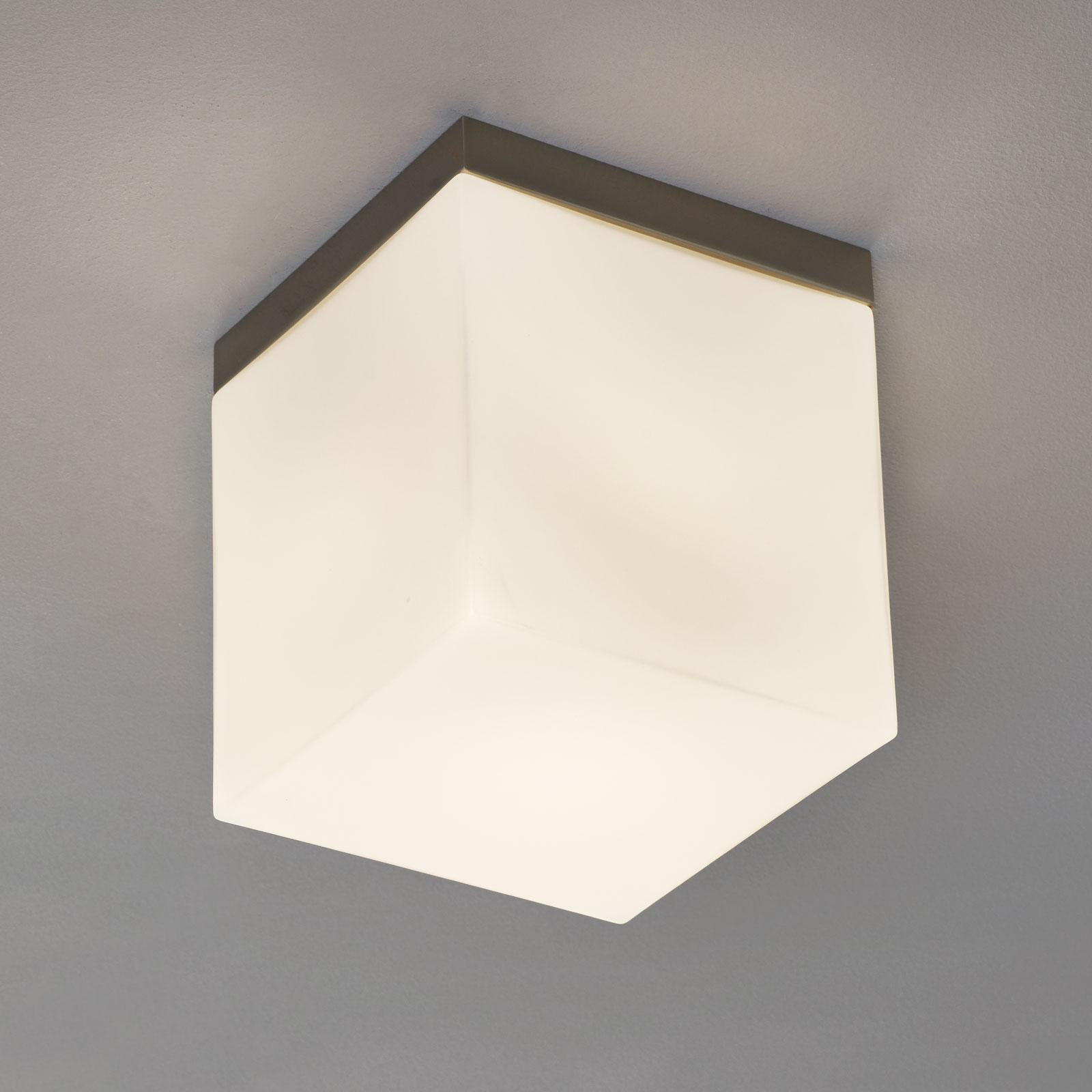 Kattovalaisin Livia lasia, 20 cm, valkoinen
