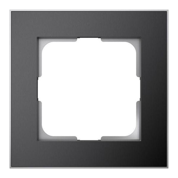 Elko EKO06192 Yhdistelmäkehys musta/alumiini 1-paikkainen