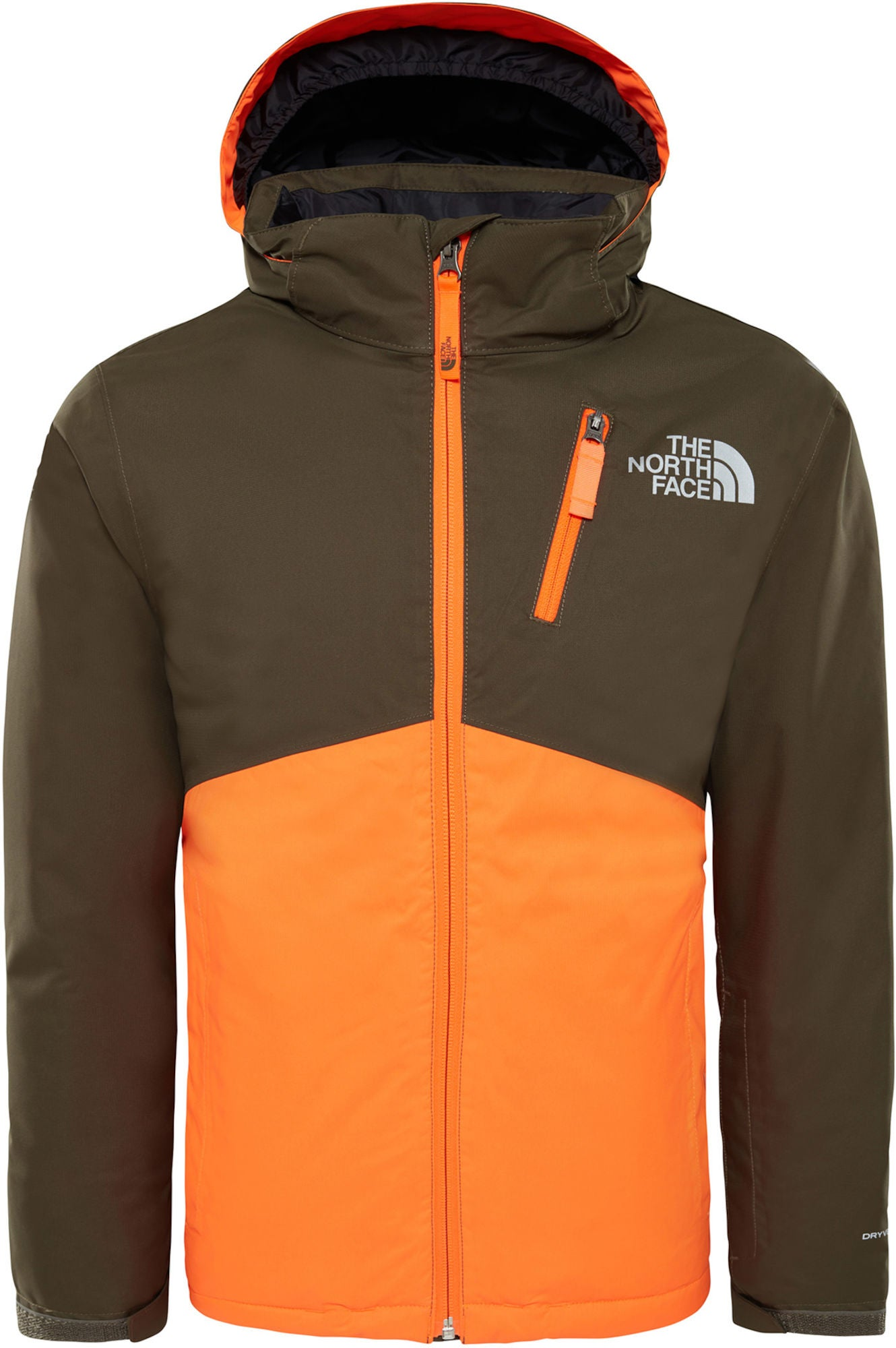 The North Face Snowquest Insulated Jacka Barn, New Taupe Green XS