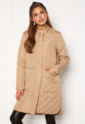 SELECTED FEMME Fillipa Quilted Coat Cornstalk 42