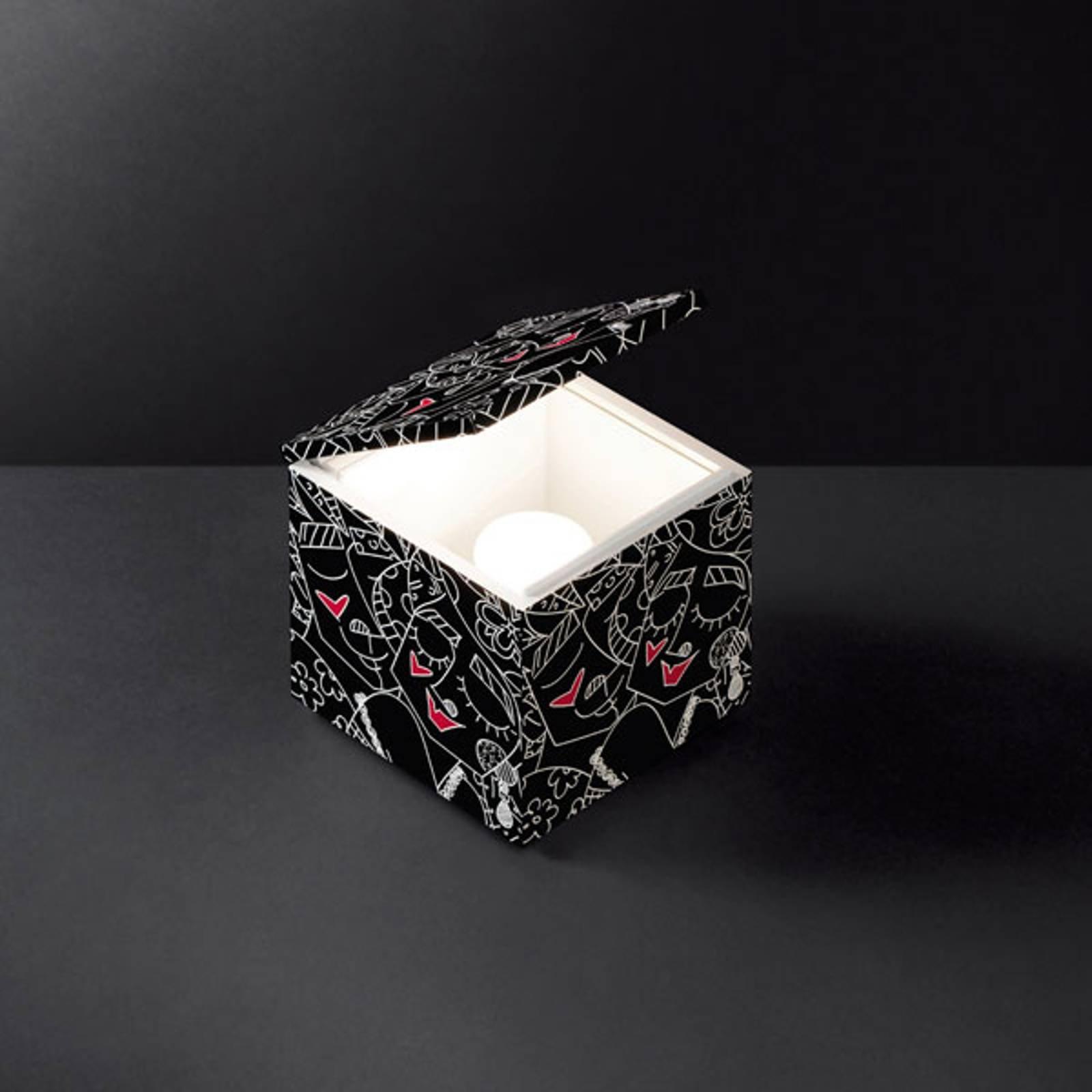 Cini&Nils Cuboluce LED-bordlampe Britto black