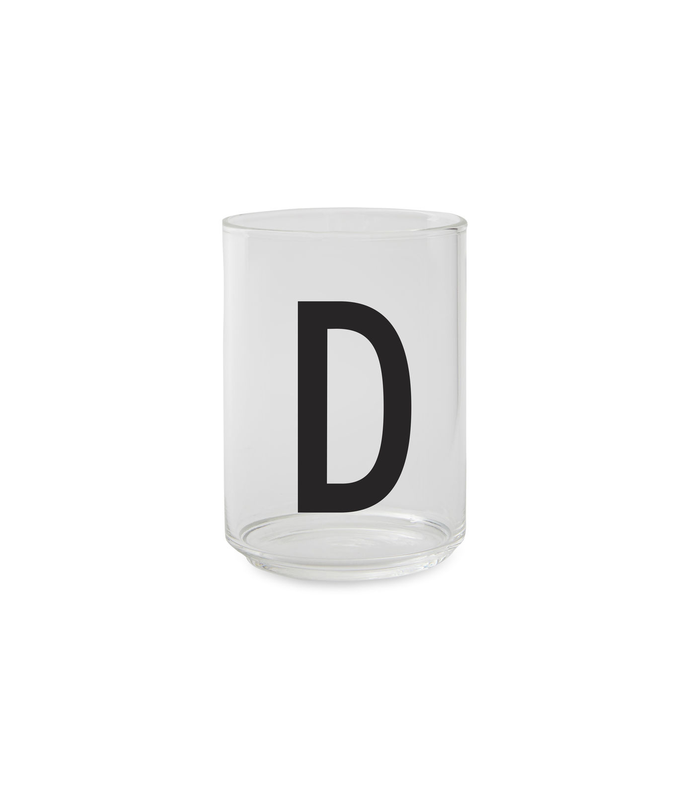 Design Letters - Personal Drinking Glass D