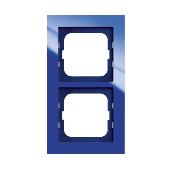 ABB Axcent Kombinasjonsramme blå 2 rom