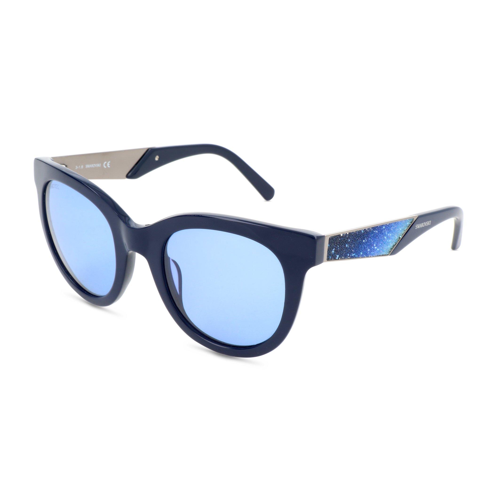 Swarovski Women's Sunglasses Black SK0126 - blue NOSIZE