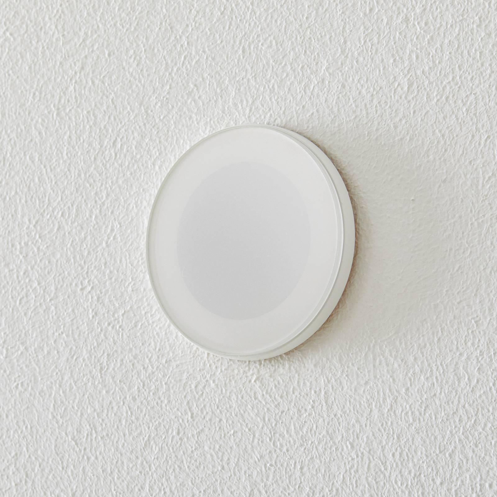 BEGA Accenta seinä pyöreä rengas valkoinen 160lm