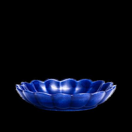 Ostronskål Mellan Blå 24 cm