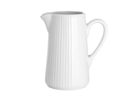 Plissé kanne hvit, 35 cl