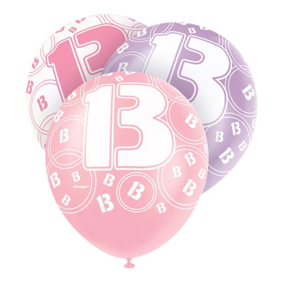 Ballonger Rosa 13 - 6-pack