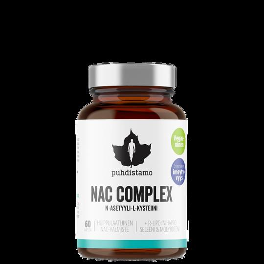 NAC Complex, 60 caps