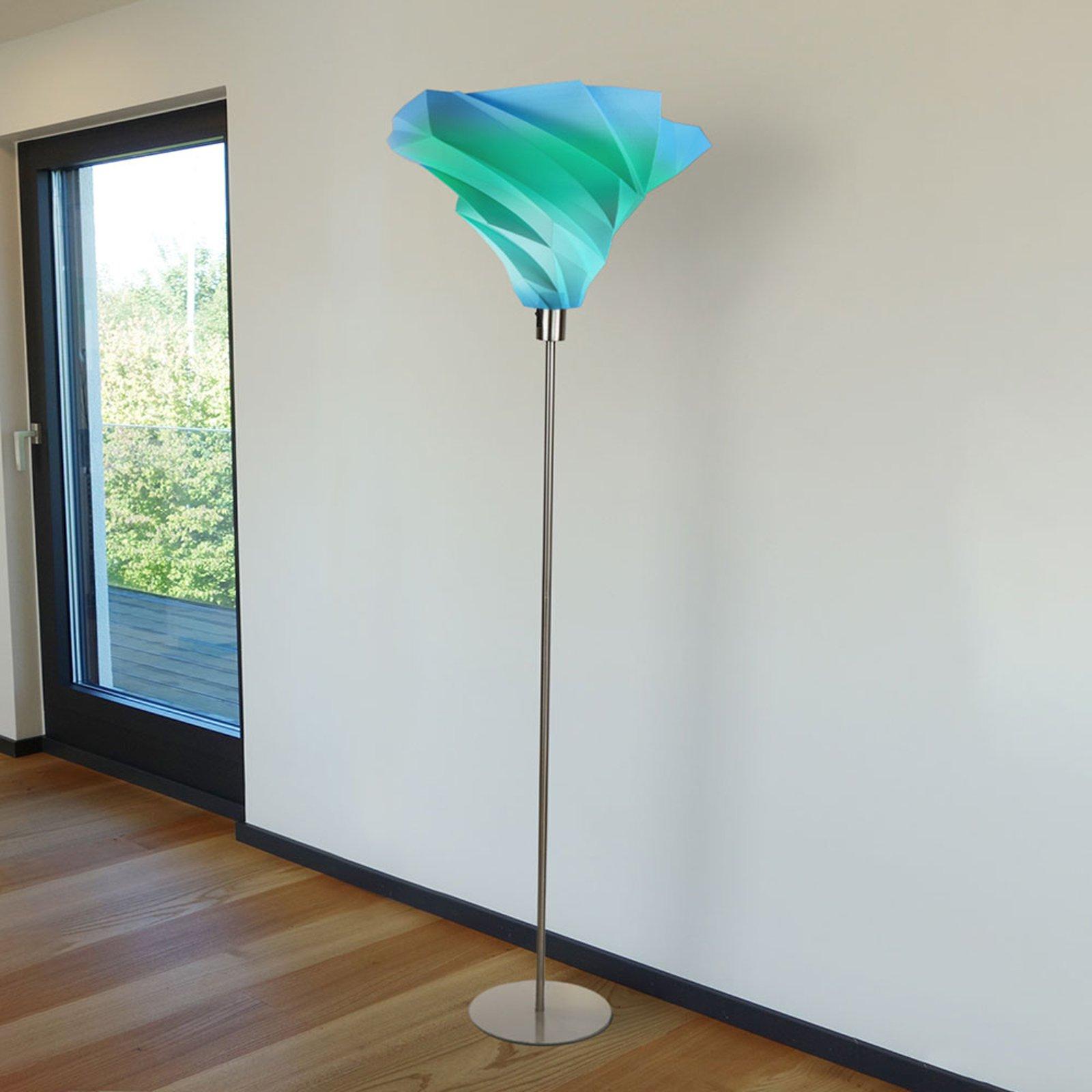 Twister designer-gulvlampe Ø 30cm flerfarget
