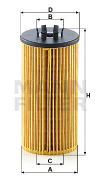 Öljynsuodatin MANN-FILTER HU 835/1 z