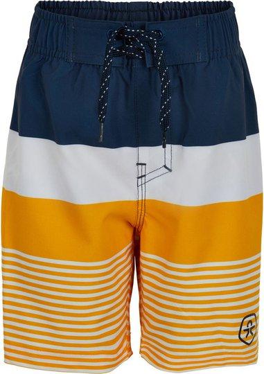 Color Kids Badeshorts UPF30+, Saffron, 104