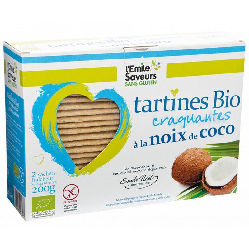 Knäckebröd Kokosmjöl 200g - 66% rabatt