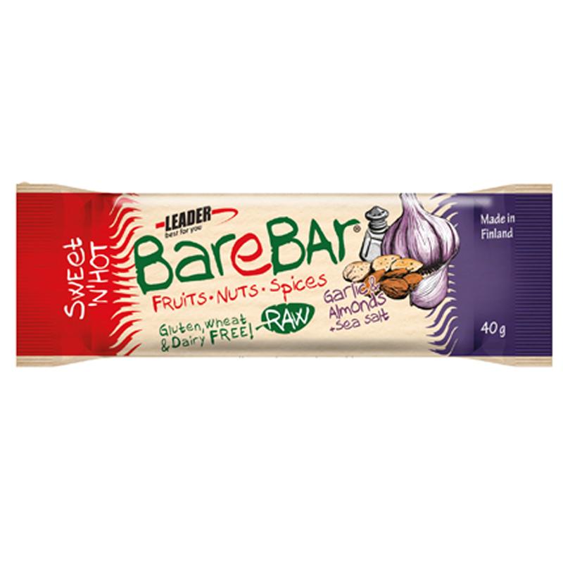 "Bar ""Garlic Almonds & Sea Salt"" 40g - 78% rabatt"