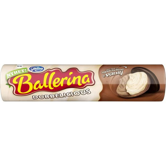 Ballerina Tuplavanilja 190 g - 50% alennus