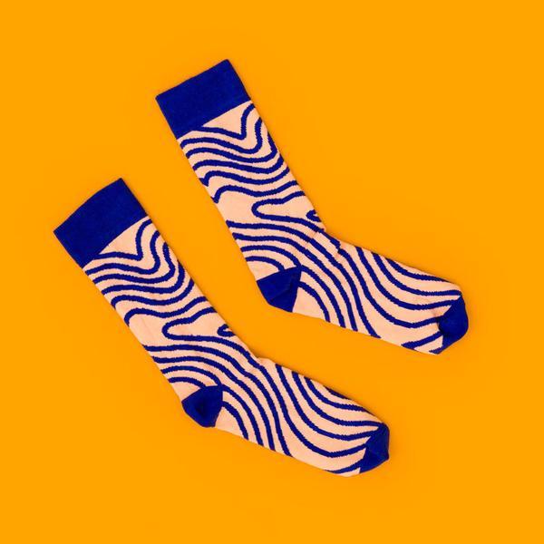 Noodle Geo Sock