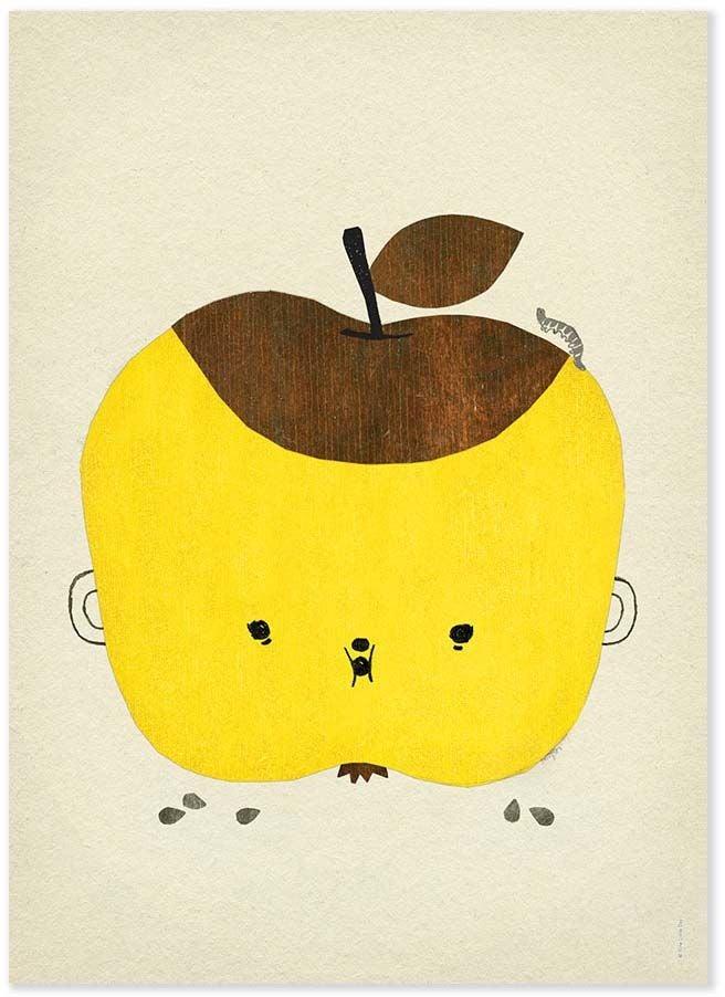 Fine Little Day Juliste Apple Papple