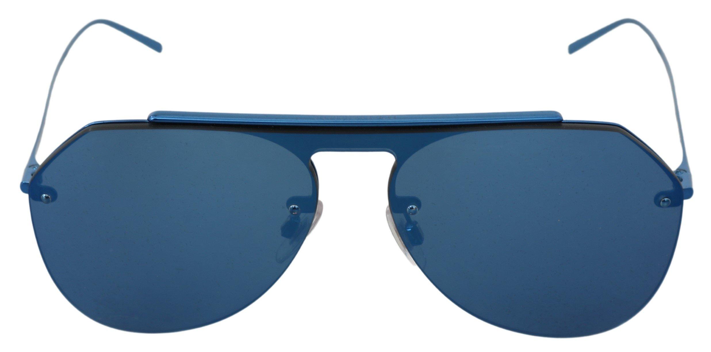 Dolce & Gabbana Women's Lenses Pilot Aviator Sunglasses Blue GLA771