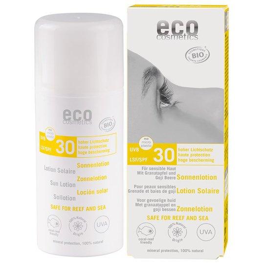 Eco Cosmetics Ekologisk Sollotion högt skydd SPF 30, 100 ml