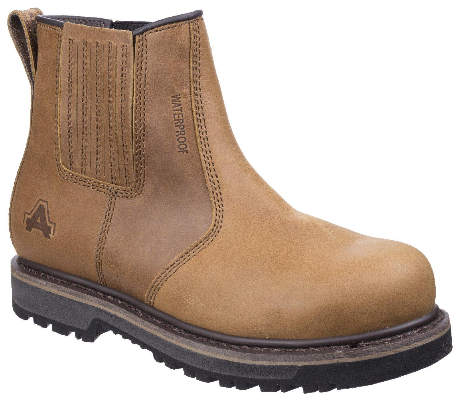 Amblers Unisex Safety Boot Tan 27095 - Tan 6