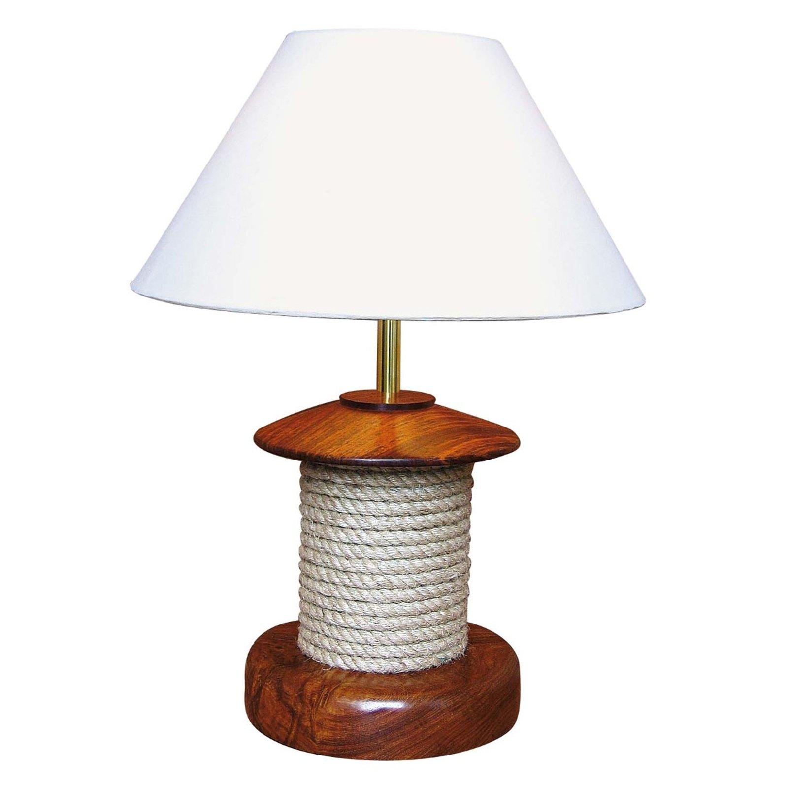 Bordlampe Pulley med tre