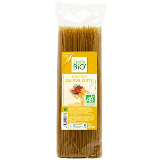 "Pasta Spaghetti ""Quinoa Curry"" 500g - 60% rabatt"