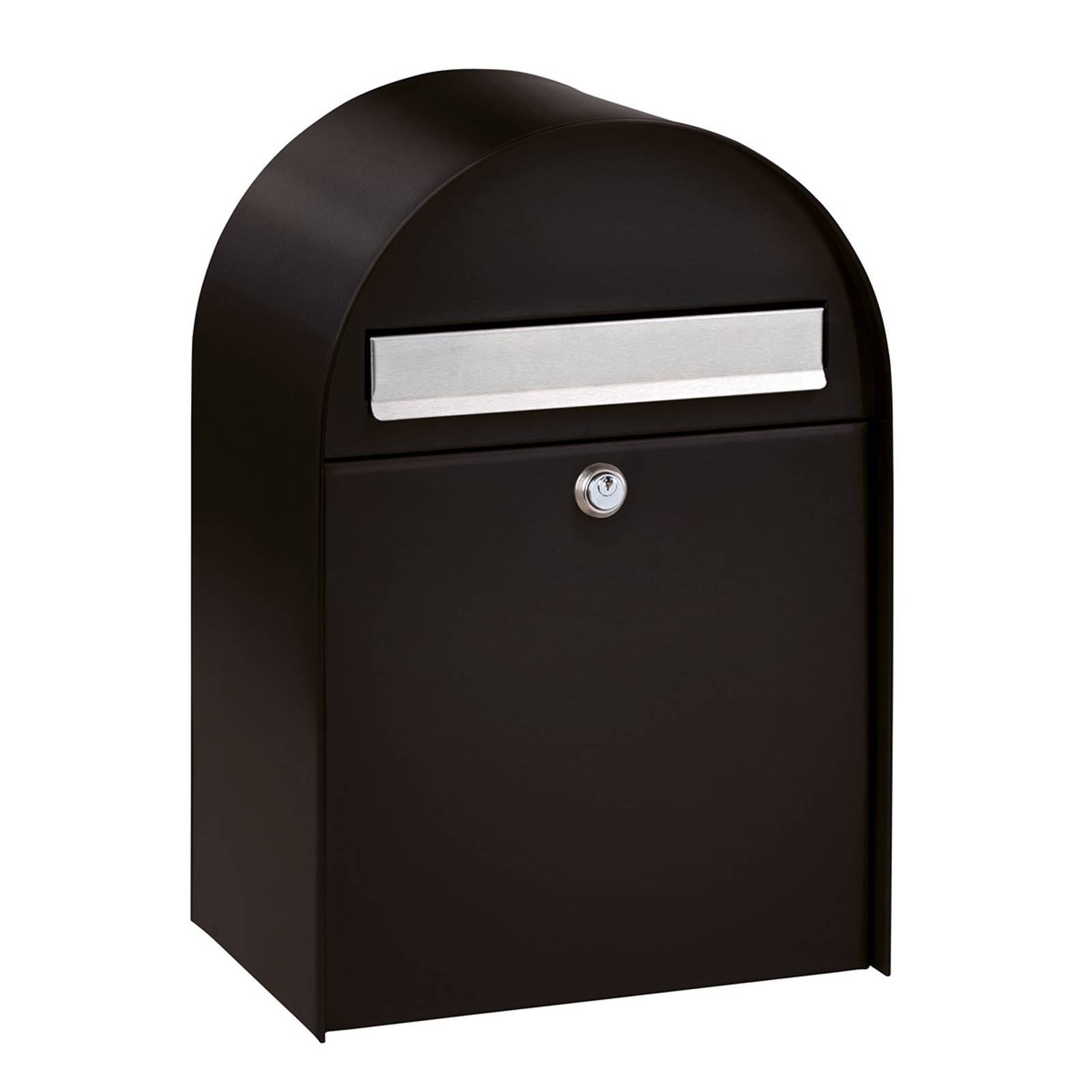Tilava postilaatikko Nordic 680, musta