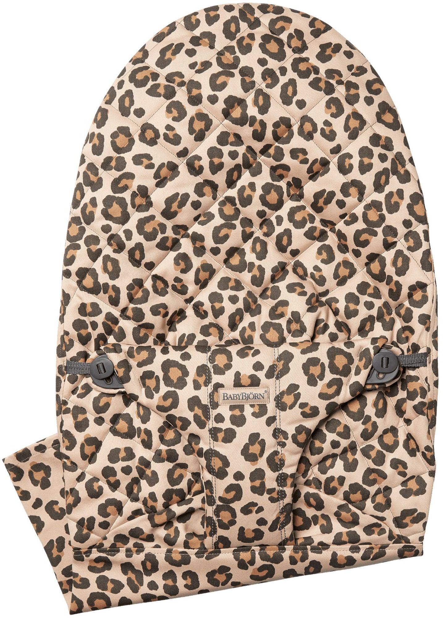 BabyBjörn Bliss Cotton Tygsits till Babysitter, Leopard Beige