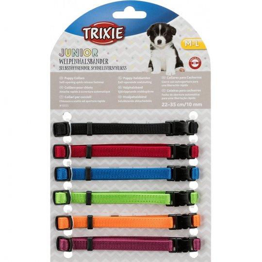 Trixie Valphalsband 6-pack (22 - 35 cm)