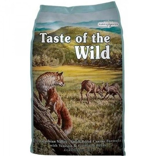 Taste of the Wild Appalachian Valley Small Breed Canine (5,6 kg)