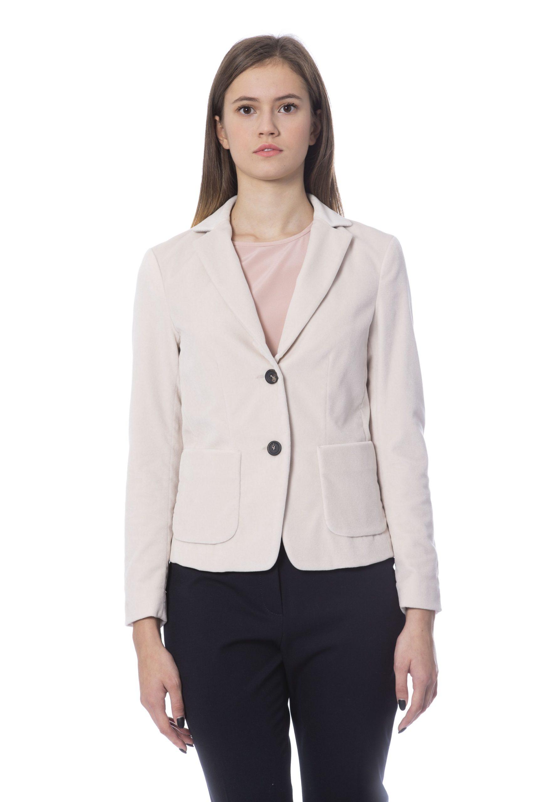 Peserico Women's Jacket Pink PE854190 - IT42   S