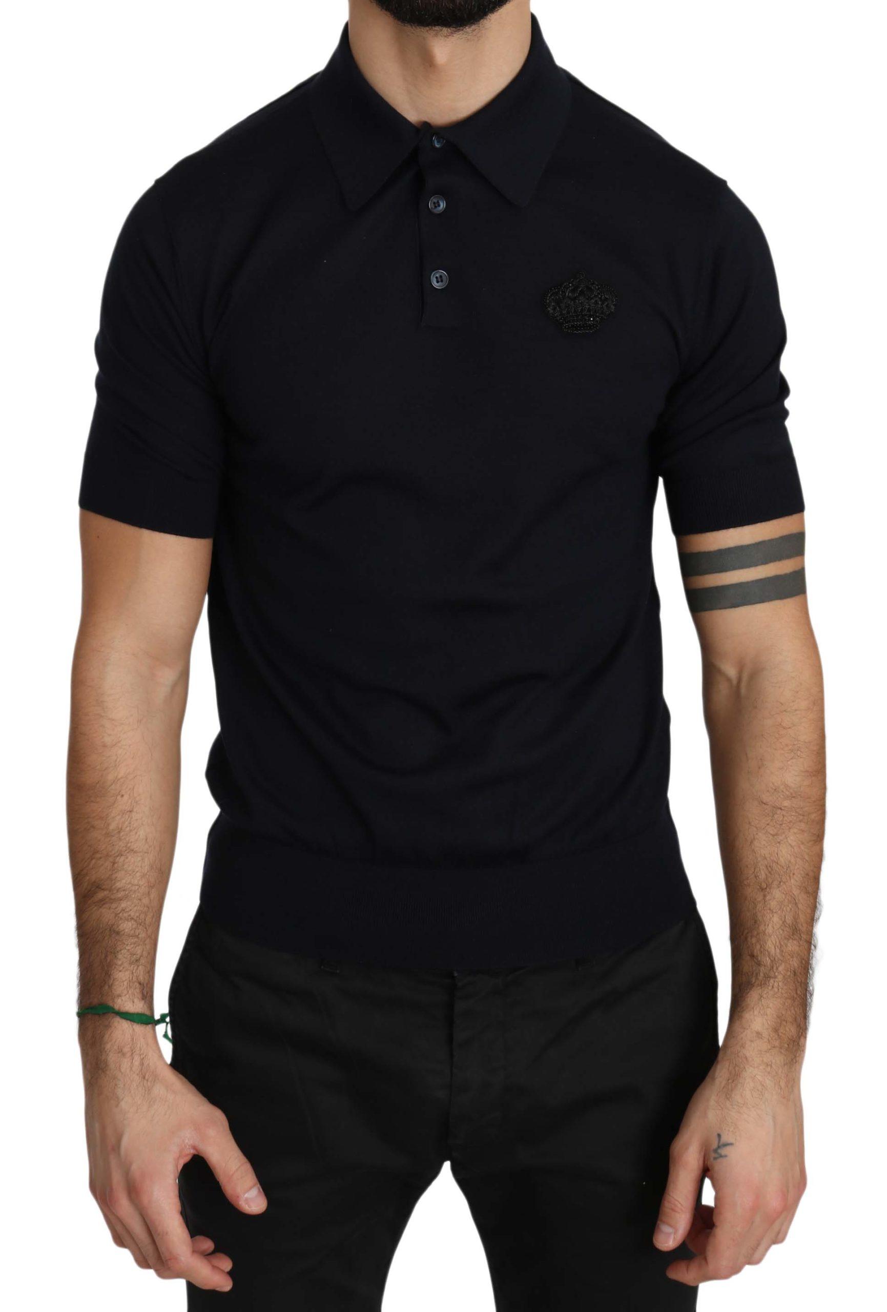 Dolce & Gabbana Men's Regular Polo Shirt Blue TSH3338 - IT44   XS