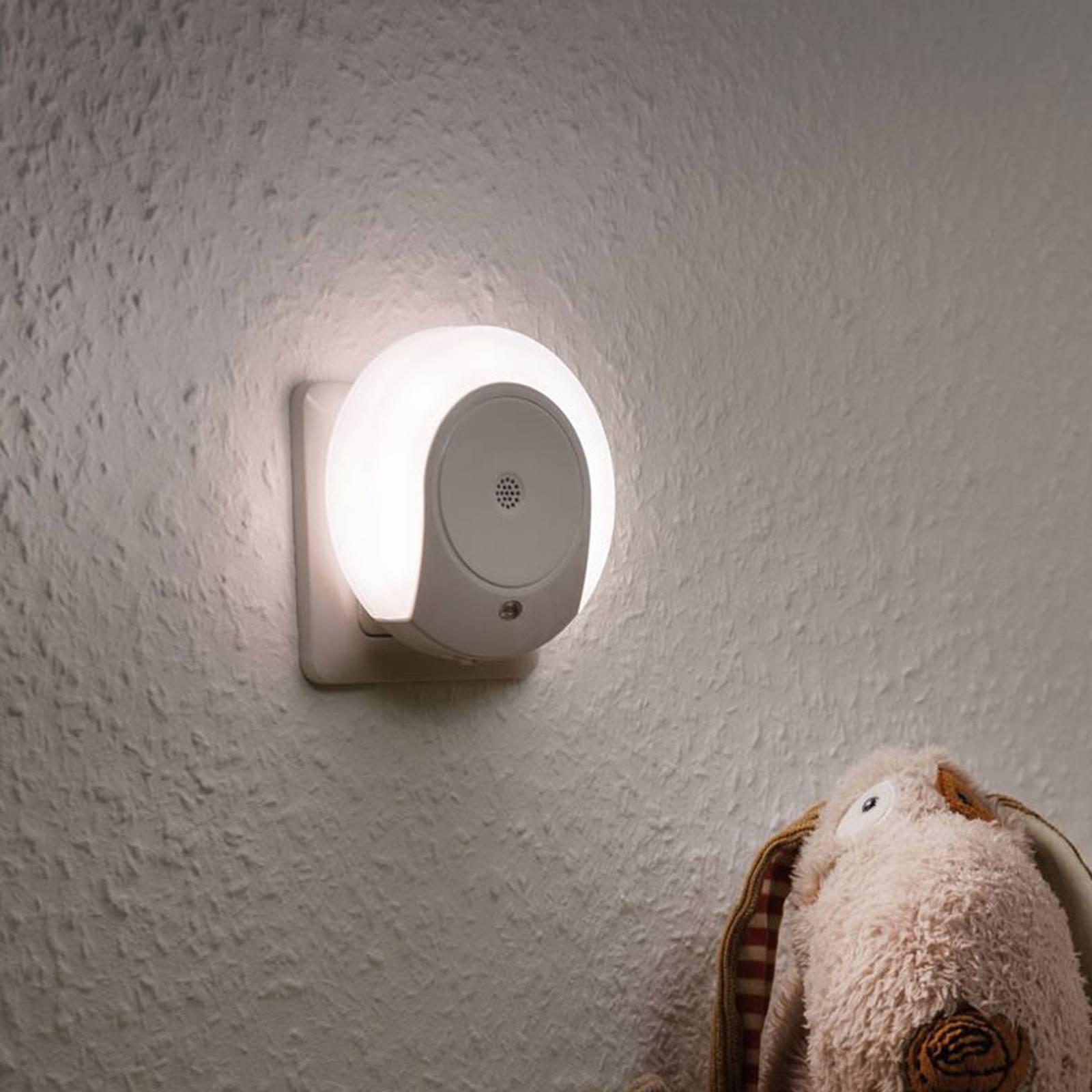 Paulmann Horby -LED-yövalo melutunnistimella