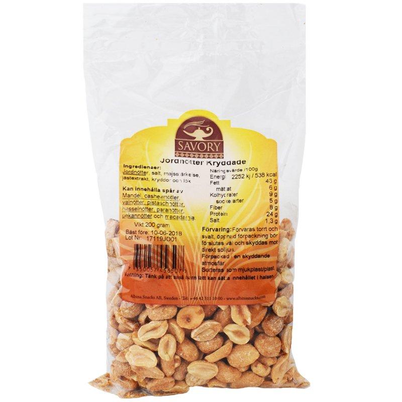 Jordnötter Kryddade 200g - 50% rabatt