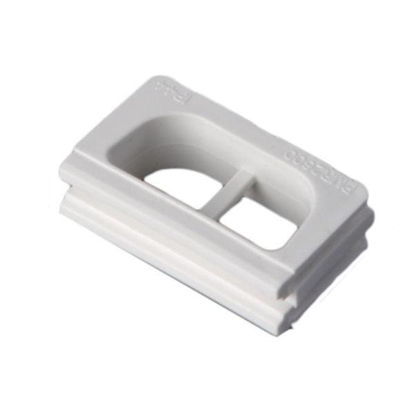 ABB 2138SW Liitin halogeeniton muovi