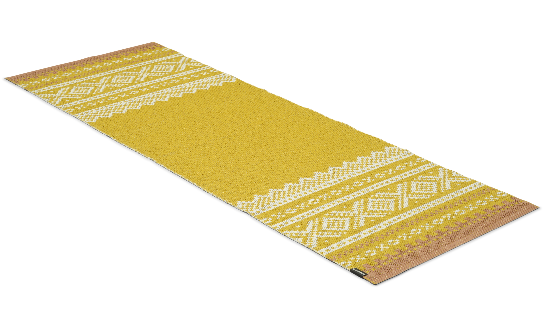 Marit gul/beige - plastteppe