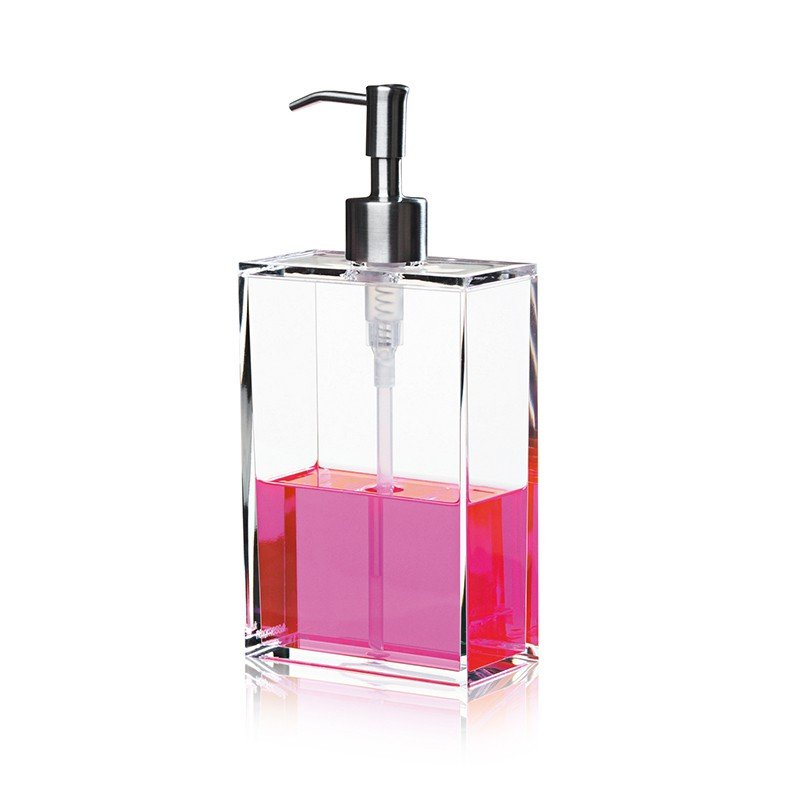 Nomess Copenhagen - Clear Soap Dispenser Large - Clear (12019)