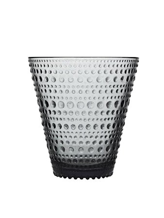 Kastehelmi Glass 30 cl Mørkegrå 4 stk.